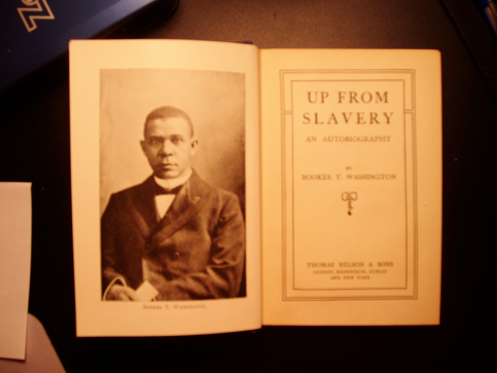 a comprehensive analysis of up from slavery a book by booker t washington Dive deep into booker t washington's up from slavery with extended analysis,   like his life in general, his book elicited little controversy and tended to confirm   laborer who had received a monetary advance for a job he did not complete.